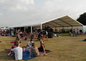 Large Marquee:festival