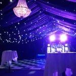 Sparkle lights ceiling