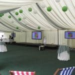 Business hire marquee
