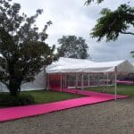 marquee hire entrance 4