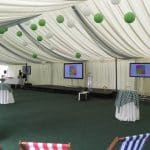 marquee hire projector 1