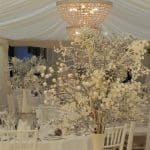 marquee hire winter wedding 1