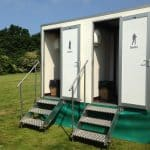 marquee hire toilets 2